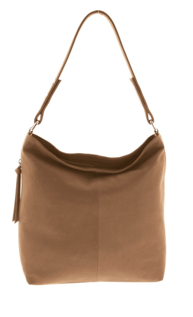 8e6a9bcfe930 Gabee Porter Soft Leather Slouch Hobo In Tan