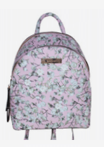 Giannotti Printed Backpack in Pink