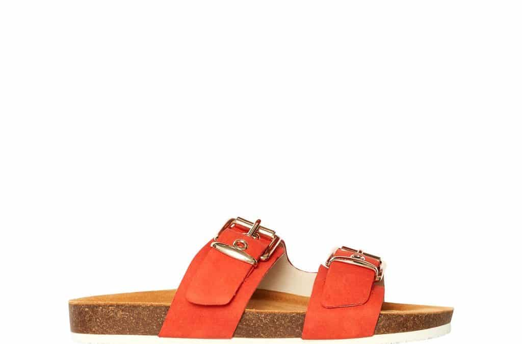 Sandy Burnt Orange Nubuck by Frankie 4